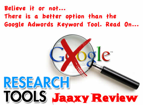 Keyword Research SEO Tool Review: Jaaxy
