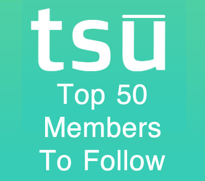 Tsu Social Media: Top 50 Members To Follow