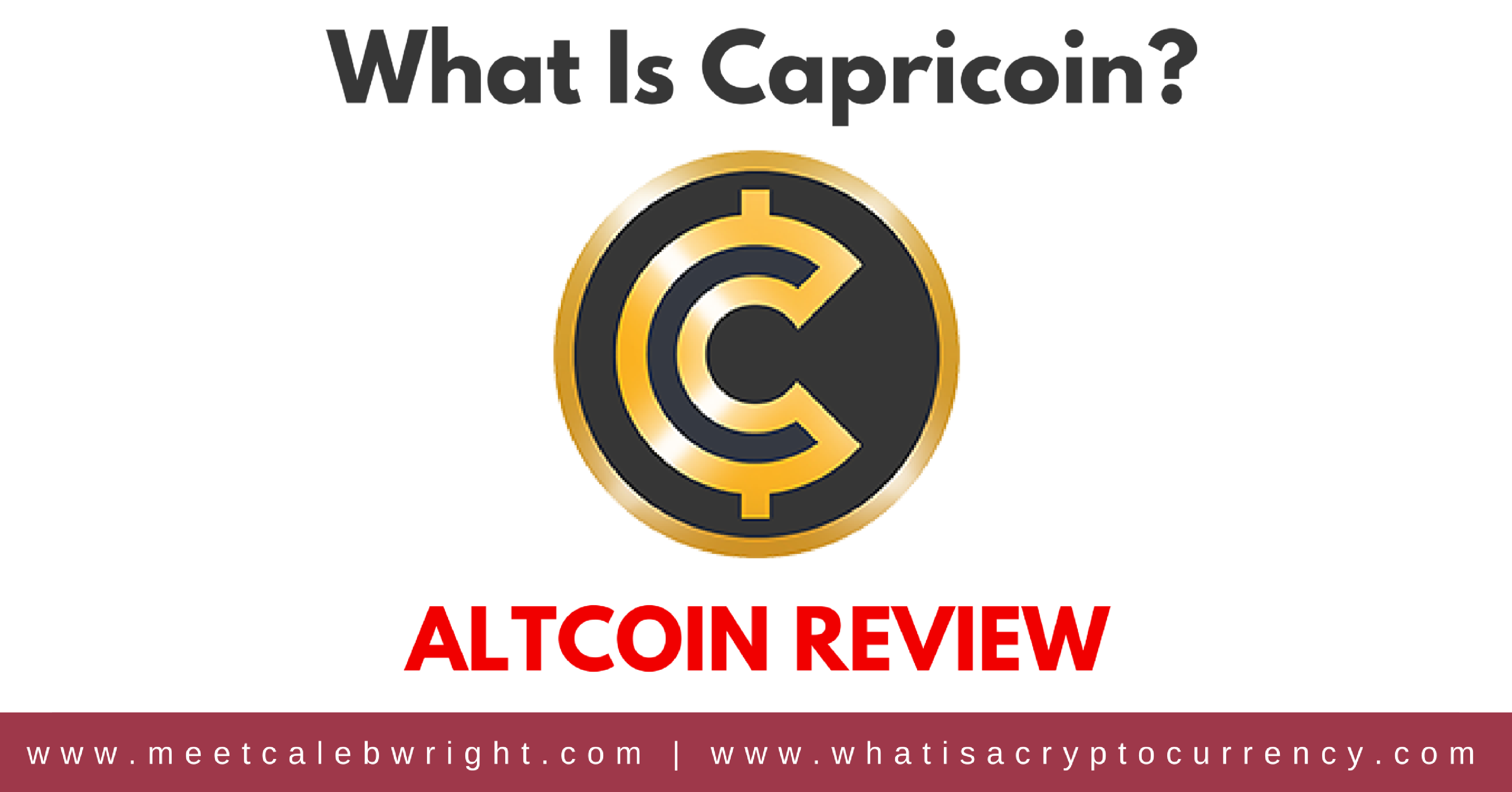 What Is Capricoin? | Altcoin Cryptocurrency Review