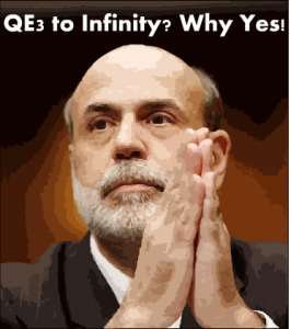 Invest in silver because quantitative easing is going to infinity