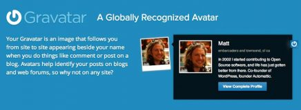 Gravatar Images… Your WordPress Profile Needs One