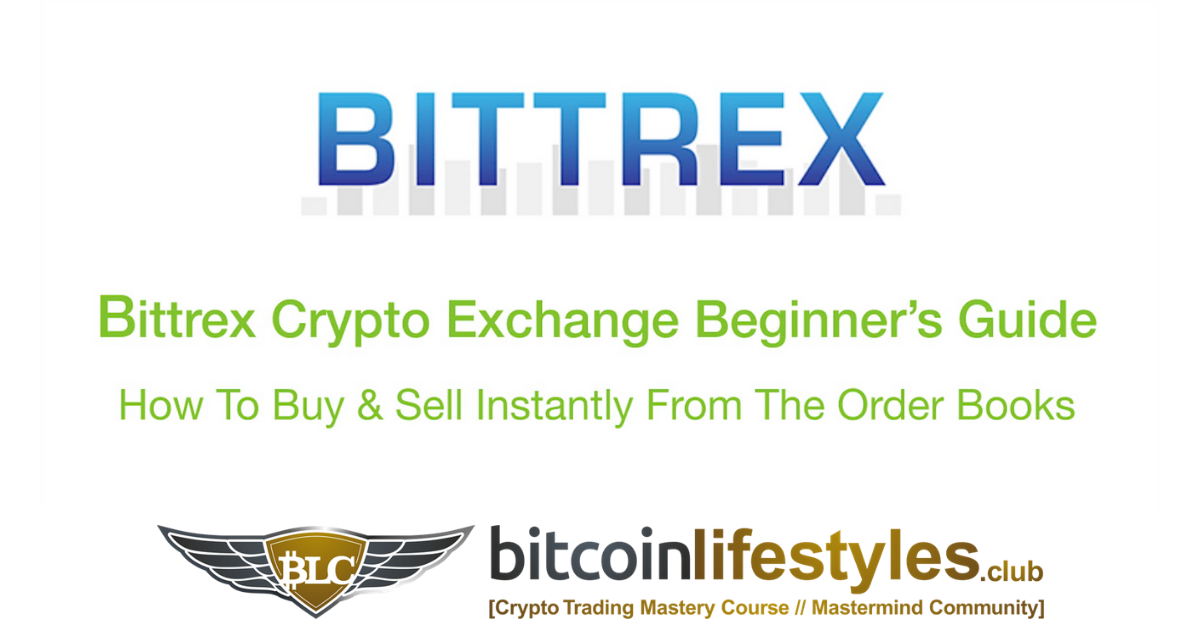 Bittrex Exchange Beginner's Guide Pt. 4: How To Buy Sell Crypto Instantly From The Order Books