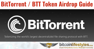 BitTorrent Airdrop Information / Guide: How To Get BTT Token by Holding Tron