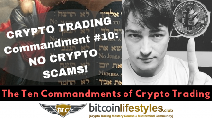 10th Crypto Trading Commandment: Thou Shalt Not Lose Money To Crypto Scams