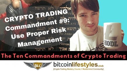 9th Crypto Trading Commandment: Thou Shalt Exercise Proper Risk Management